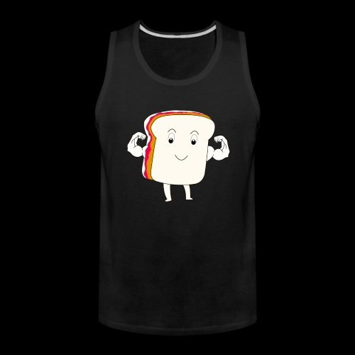 Peanut Butter and Lift - Men's Premium Tank