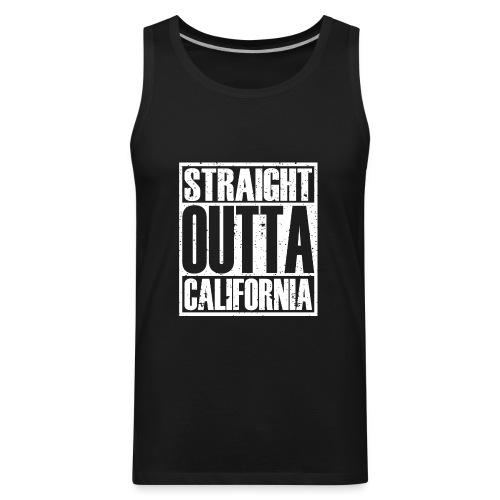 Straight Outta California - Men's Premium Tank