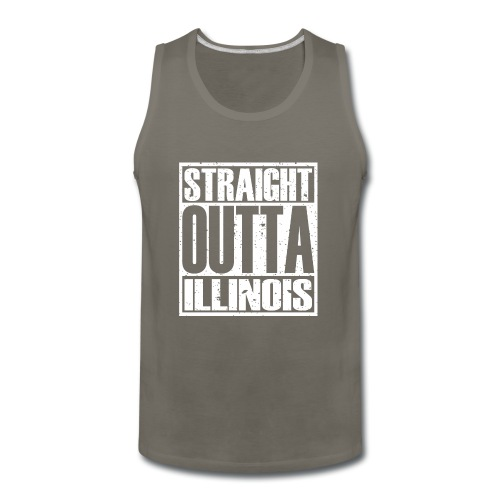 Straight Outta Illinois - Men's Premium Tank