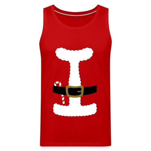 SANTA CLAUS SUIT - Men's Polo Shirt - Men's Premium Tank