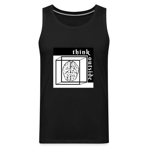 think outside the box - Men's Premium Tank