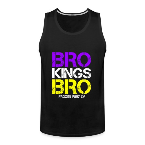 bro kings bro color1 - Men's Premium Tank