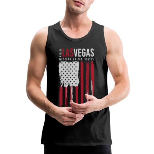 las vegas nevada usa - Men's Premium Tank