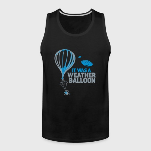 Weather Balloon UFO - Men's Premium Tank