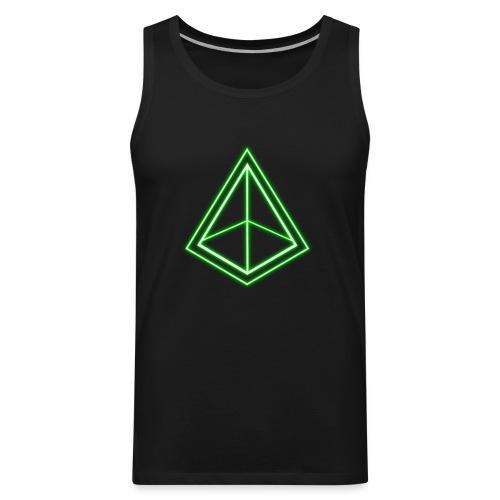 Green Pyramid - Men's Premium Tank