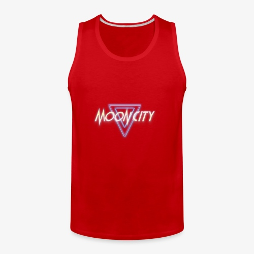 Moon City Logo - Men's Premium Tank