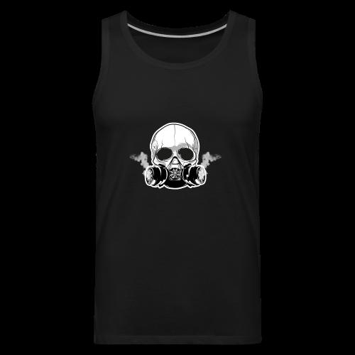 WarBoy Smokin' Skull - Men's Premium Tank