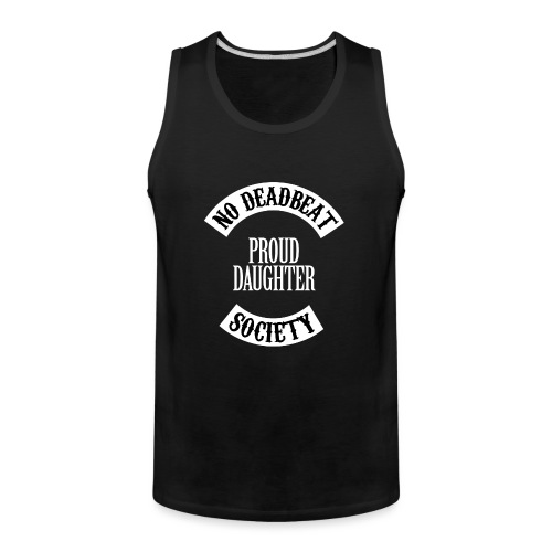 Proud Daughter T-shirt (Kids) - Men's Premium Tank
