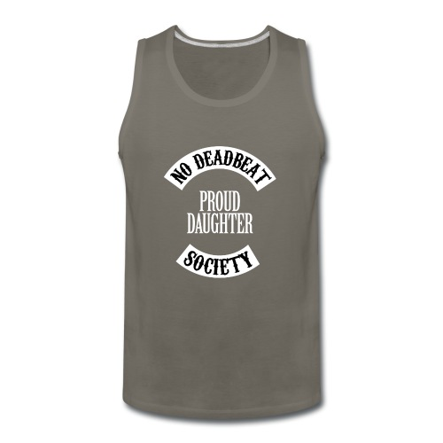 Proud Daughter T-shirt (Kids) - Men's Premium Tank