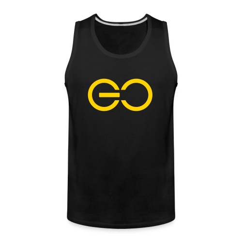 GO logo big - Men's Premium Tank