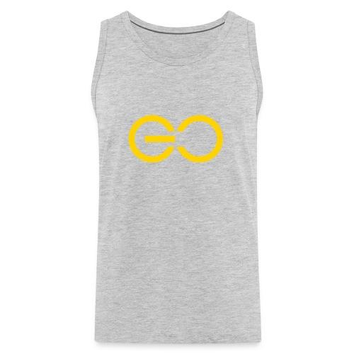 GO logo big - Men's Premium Tank