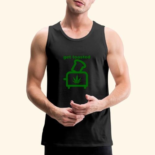 GET TOASTED - Men's Premium Tank