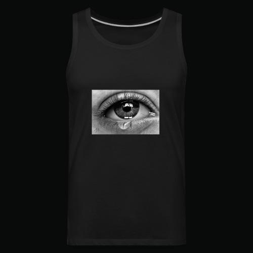Emotional eye - Men's Premium Tank