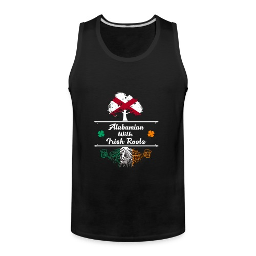 ALABAMIAN WITH IRISH ROOTS - Men's Premium Tank