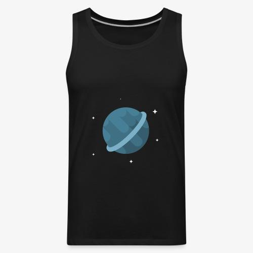 Tiny Blue Planet - Men's Premium Tank