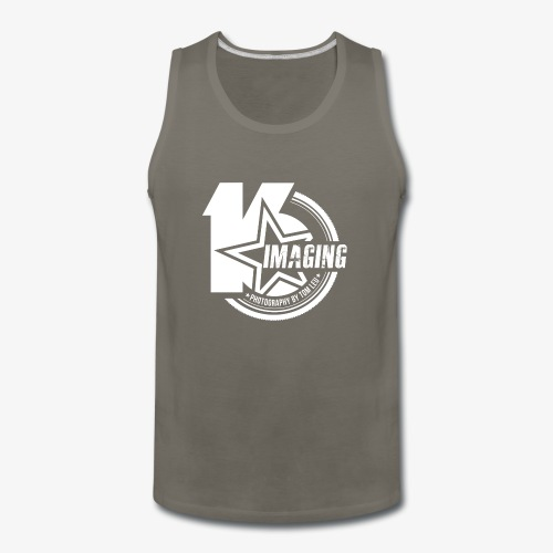 16IMAGING Badge White - Men's Premium Tank