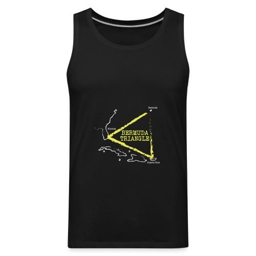 bermuda triangle - Men's Premium Tank