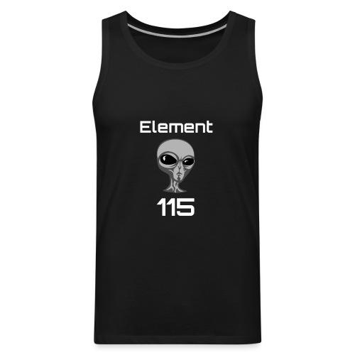 Element 115 Moscovium Alien Fuel - Men's Premium Tank