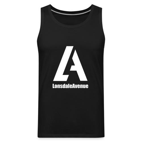 Lonsdale Avenue Logo White Text - Men's Premium Tank