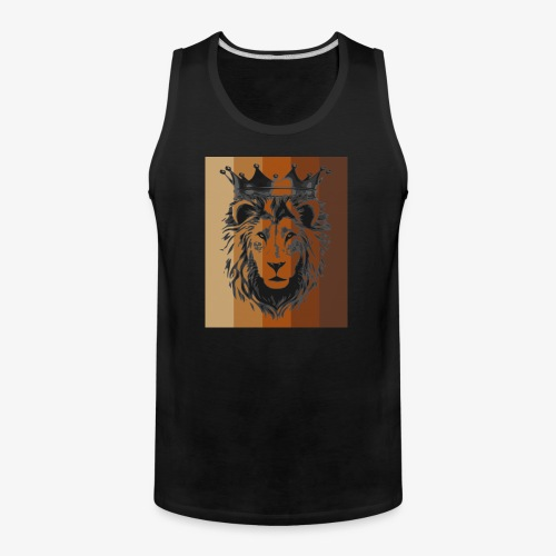 lion colors king - Men's Premium Tank