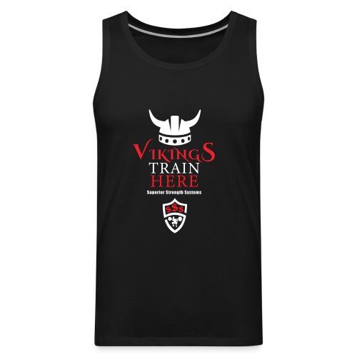 Vikings Train Here - Men's Premium Tank