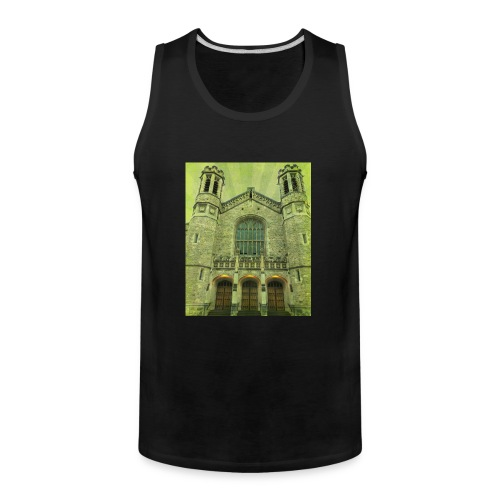 Green gothic cathedral - Men's Premium Tank