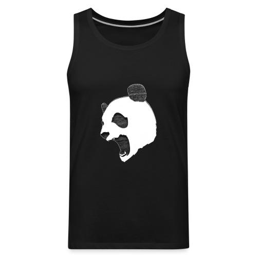 Fierce Panda Crewneck - Men's Premium Tank