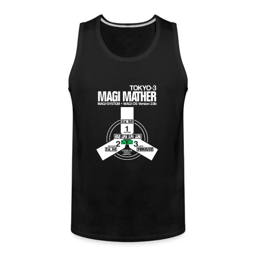 MAGI MATHER (BLACK) - Men's Premium Tank