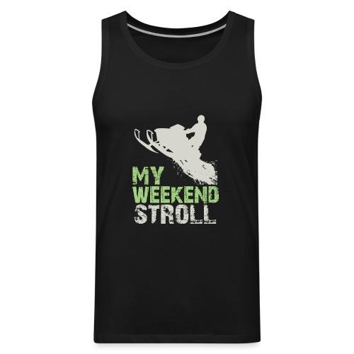 Snowmobile Weekend Stroll - Men's Premium Tank