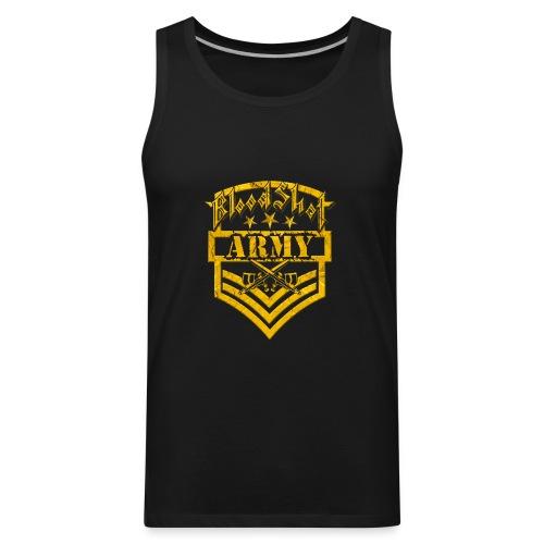BloodShot ARMY Logo - Men's Premium Tank