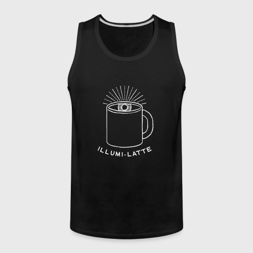 Coffee Illuminati - Men's Premium Tank
