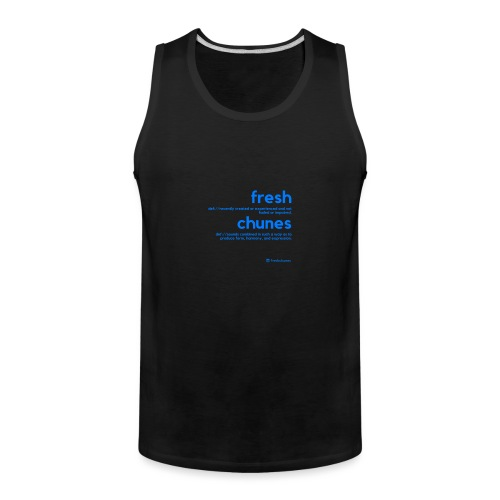 Clothing for All Urban Occasions (Blue) - Men's Premium Tank
