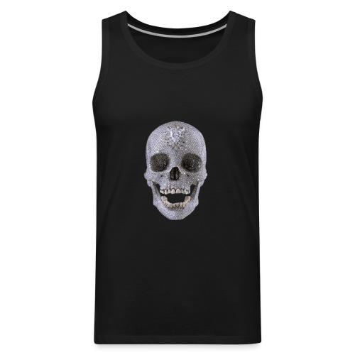 diamond_skull_1 - Men's Premium Tank