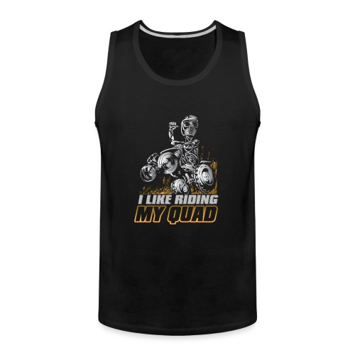 ATV Quad Like Stunt Rider - Men's Premium Tank