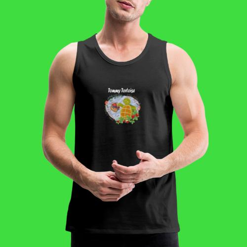 Tommy Tortoise black - Men's Premium Tank
