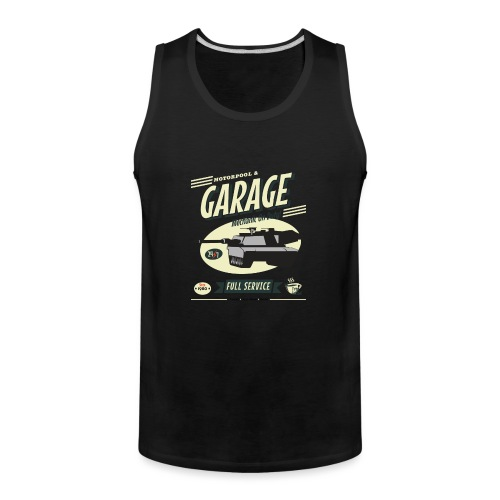 Vintage Tank Mechanic - Men's Premium Tank