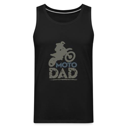 Dirt Bike Dad - Men's Premium Tank
