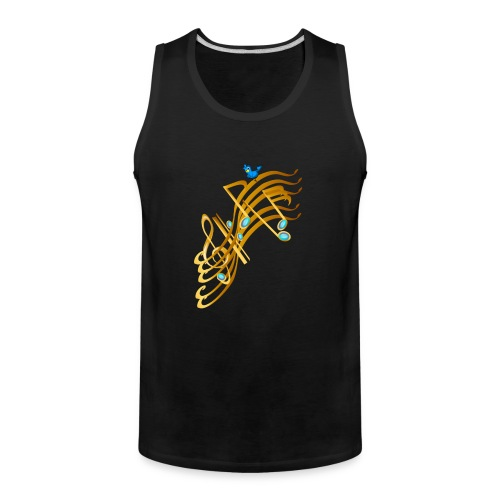 Golden Notes - Men's Premium Tank