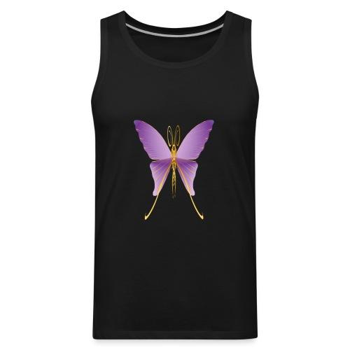 One Big Purple Butterfly - Men's Premium Tank