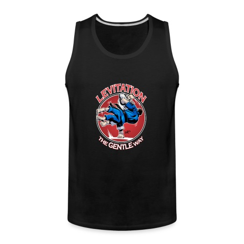 Judo Levitation for dark shirt - Men's Premium Tank