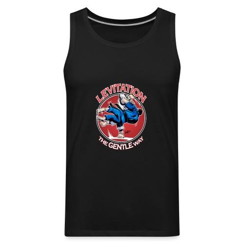 Judo Levitation for dark shirt - Men's Premium Tank