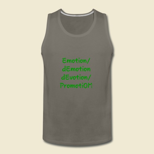 108-lSa - Inspi-Shirt-66: dEvotion PromotiOM - Men's Premium Tank