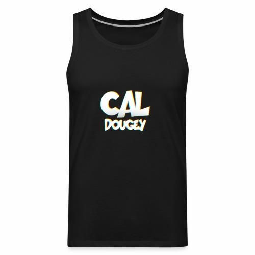 CAL DOUGEY TEXT - Men's Premium Tank