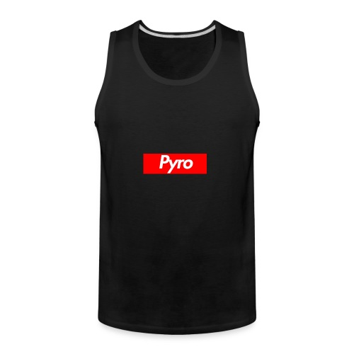 pyrologoformerch - Men's Premium Tank