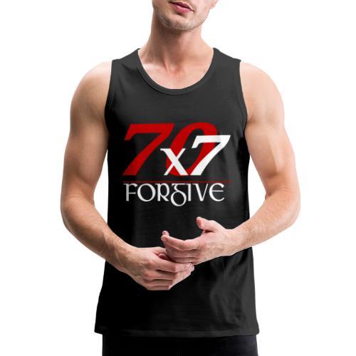 Forgive 70 x 7 times - Men's Premium Tank
