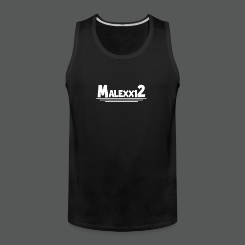 MALEXX12 logo png - Men's Premium Tank