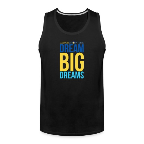 dreambigdreams - Men's Premium Tank