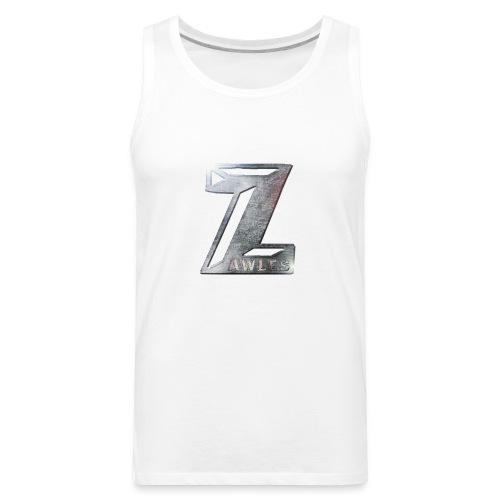 Zawles - metal logo - Men's Premium Tank