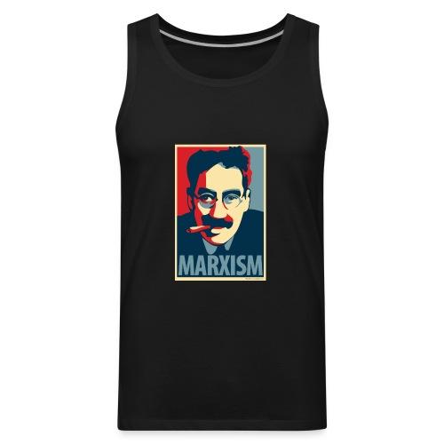 Marxism: Obama Poster Parody - Men's Premium Tank