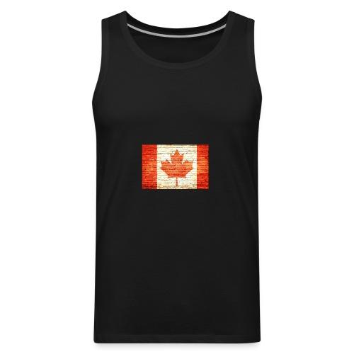 Canada flag - Men's Premium Tank